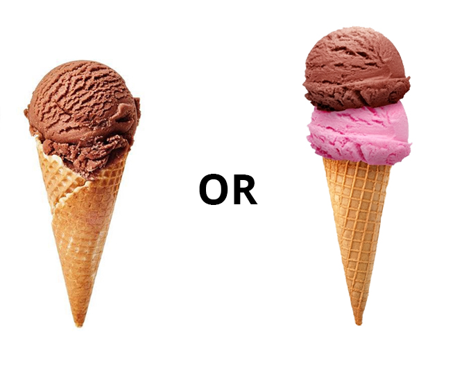 One Scoop Or Two?